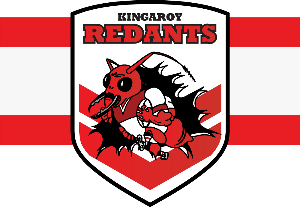 Kingaroy Red Ants Logo Banner